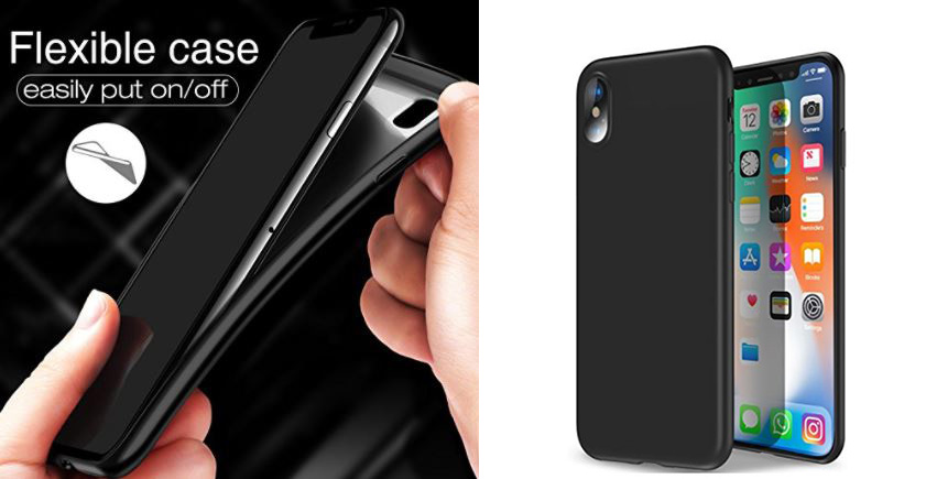 iPhone X Wireless transparent case