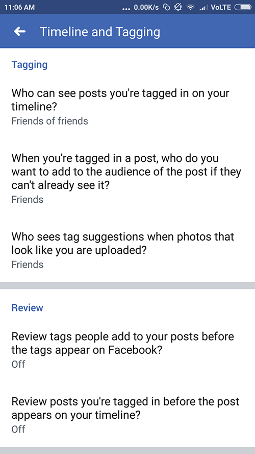 How to Stop Facebook Mention by your friends? Disable