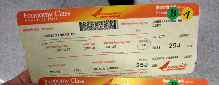 3 Methods to Create Fake Airline Ticket - Boarding Pass