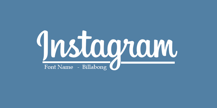 font for instagram