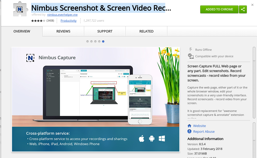 How to record Screen in Chromebook or Google Chrome OS?