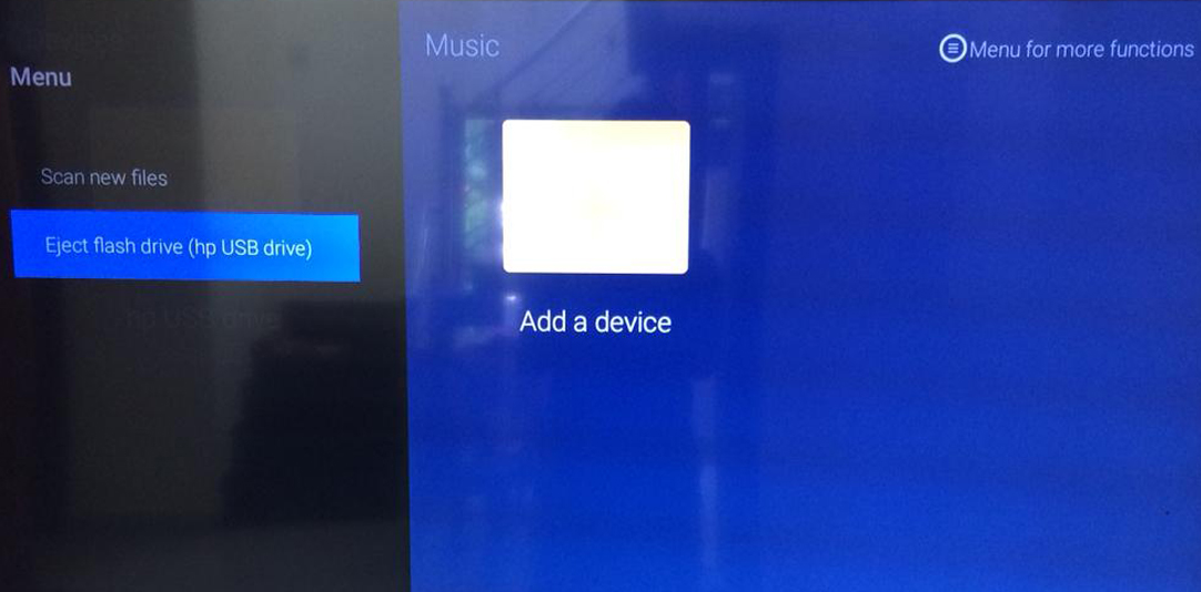 Remove USB from Mi TV 4