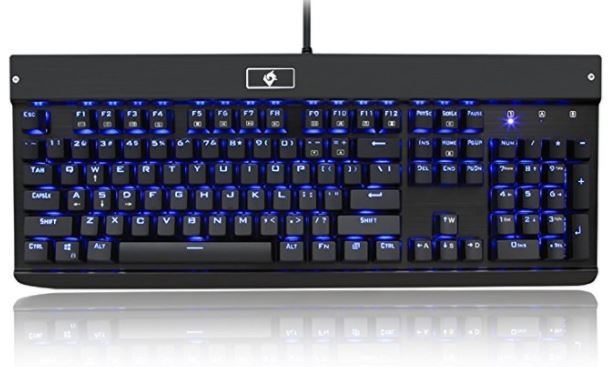 Low profile mechanical keyboard
