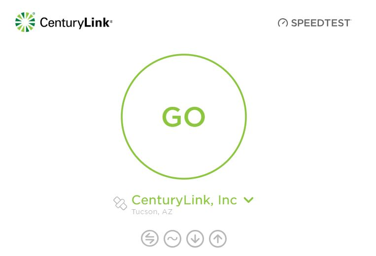 Internet Speed of Centurylink