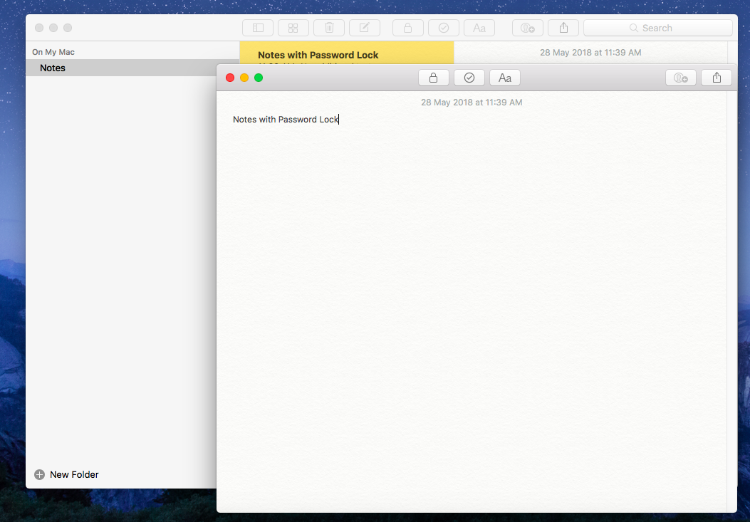 Notes for microsoft desktop