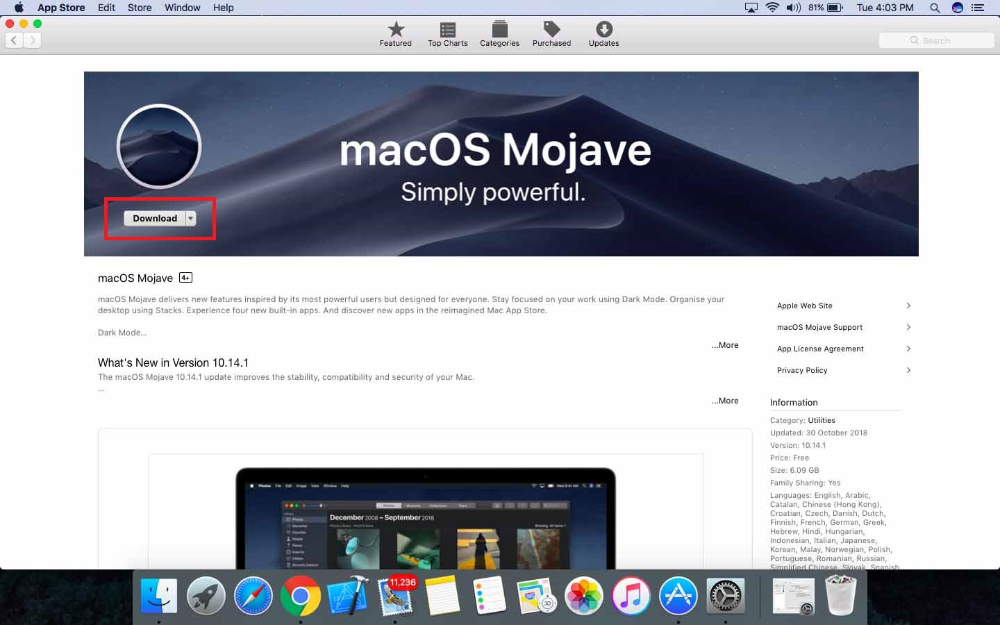Solved] Macbook Updates not showing macOS Mojave - Setup guide