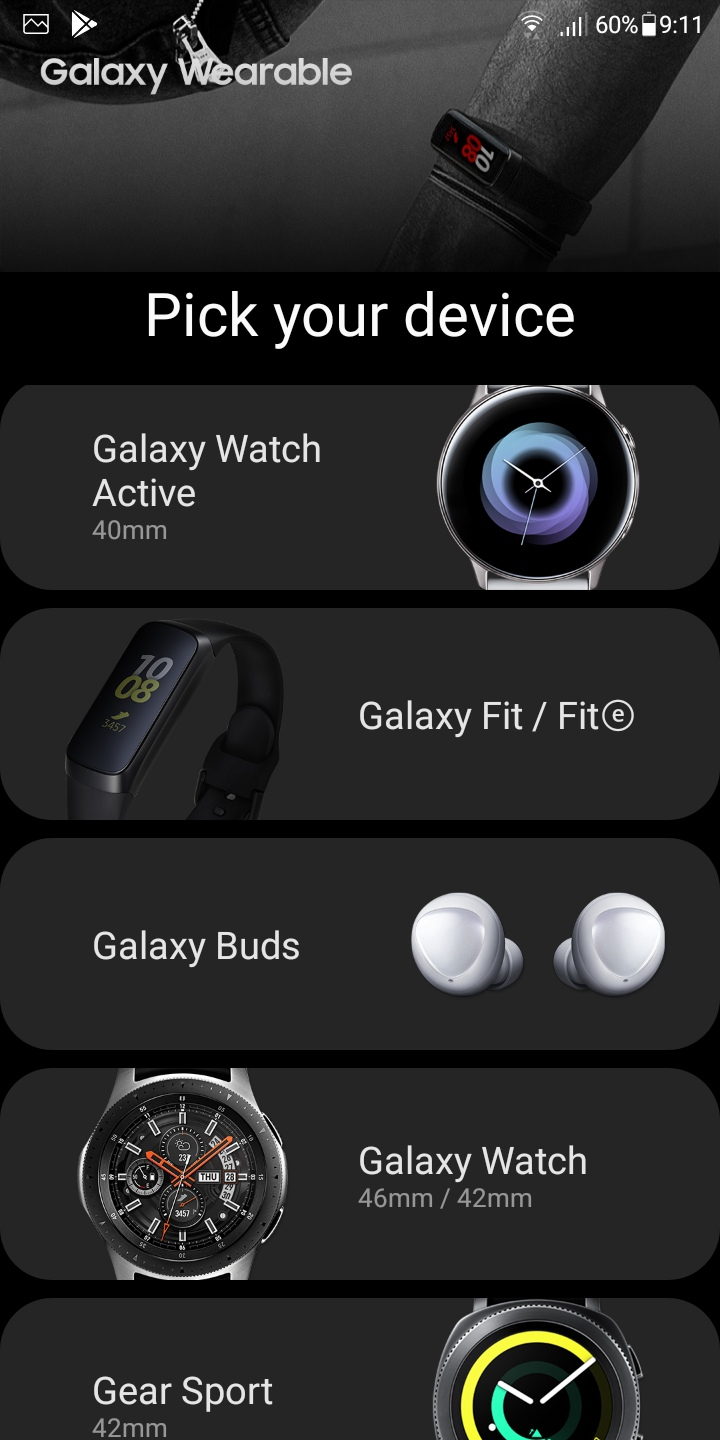 Connect Galaxy Fit e Band With Android devices