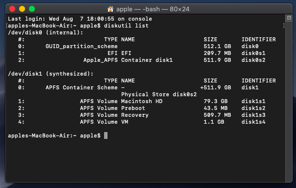 New internal SSD is not Showing in Macbook while booting