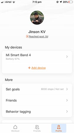 Custom Band Faces for Mi Band 4