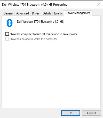 Bluetooth Speaker keeps disconnecting in Windows 10
