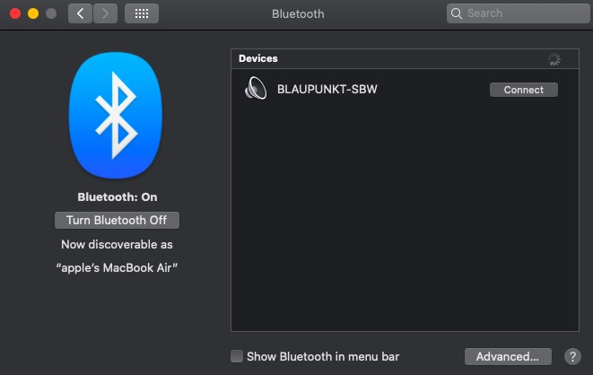 how to Connect Bluetooth Speaker to your Macbook