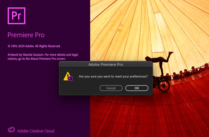 "How to Solve ""A low-level exception occurred"" in adobe Premiere Pro"