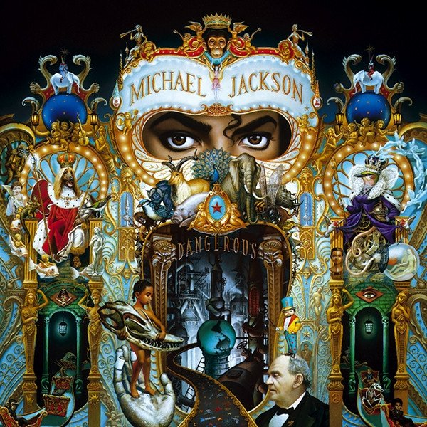 Dangerous 1991 album cover