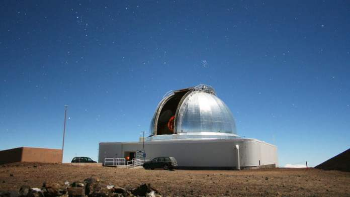 In addition to supporting a variety of NASA planetary missions, the NASA Infrared Telescope Facility at Maunakea on the Big Island of Hawaii is also used to determine the composition of near-Earth objects.