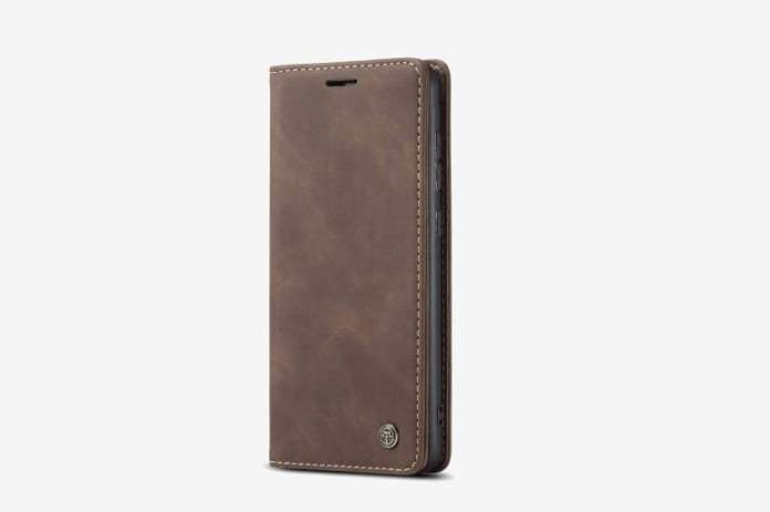 Simicoo Vintage Leather Case for Huawei P40 Pro Plus