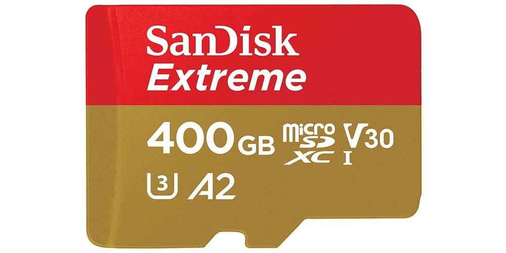 SanDisk Extreme microSD card