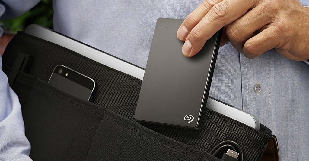Using the Seagate Portable External Drive