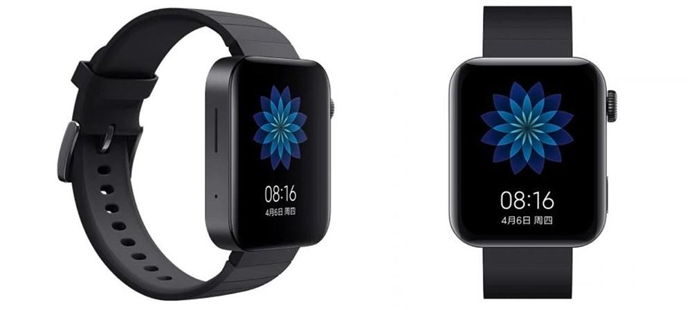 Design of the samrtwatch Xiaomi Mi Watch