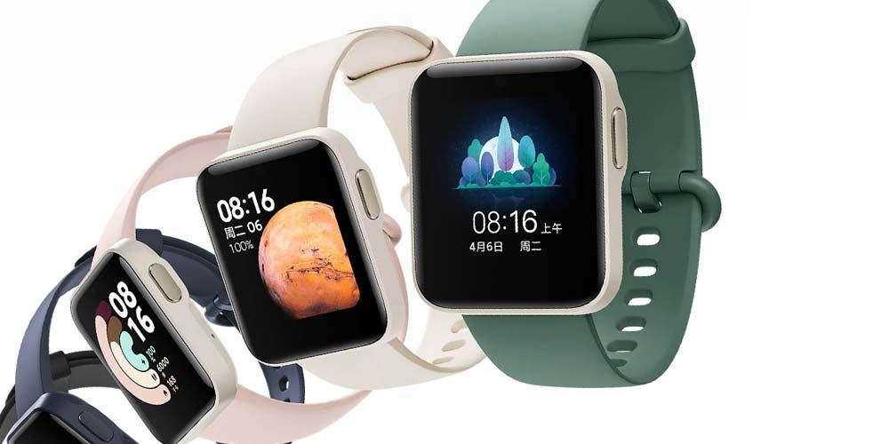 Xiaomi Redmi Watch smartwatch colors