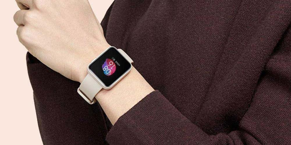 Using the Xiaomi Redmi Watch smartwatch