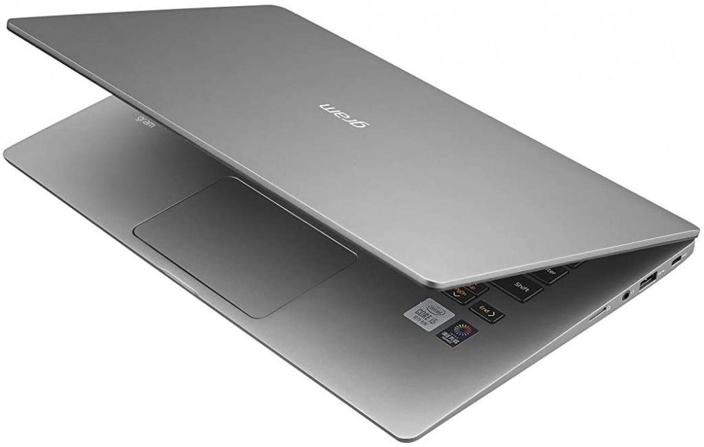 LG Gram laptop touchpad