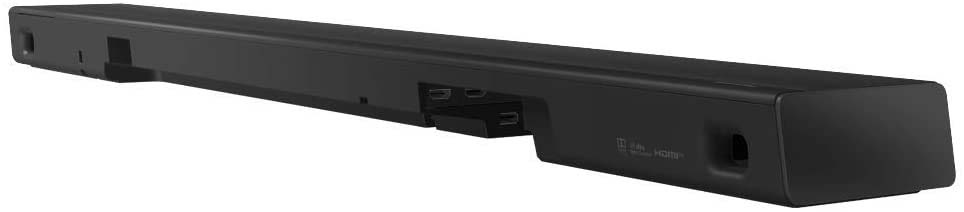 Rear of sound bar Panasonic SC-HTB400EGK