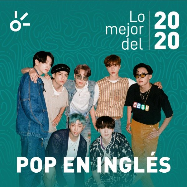 Claro music the best of the year pop in English BTS