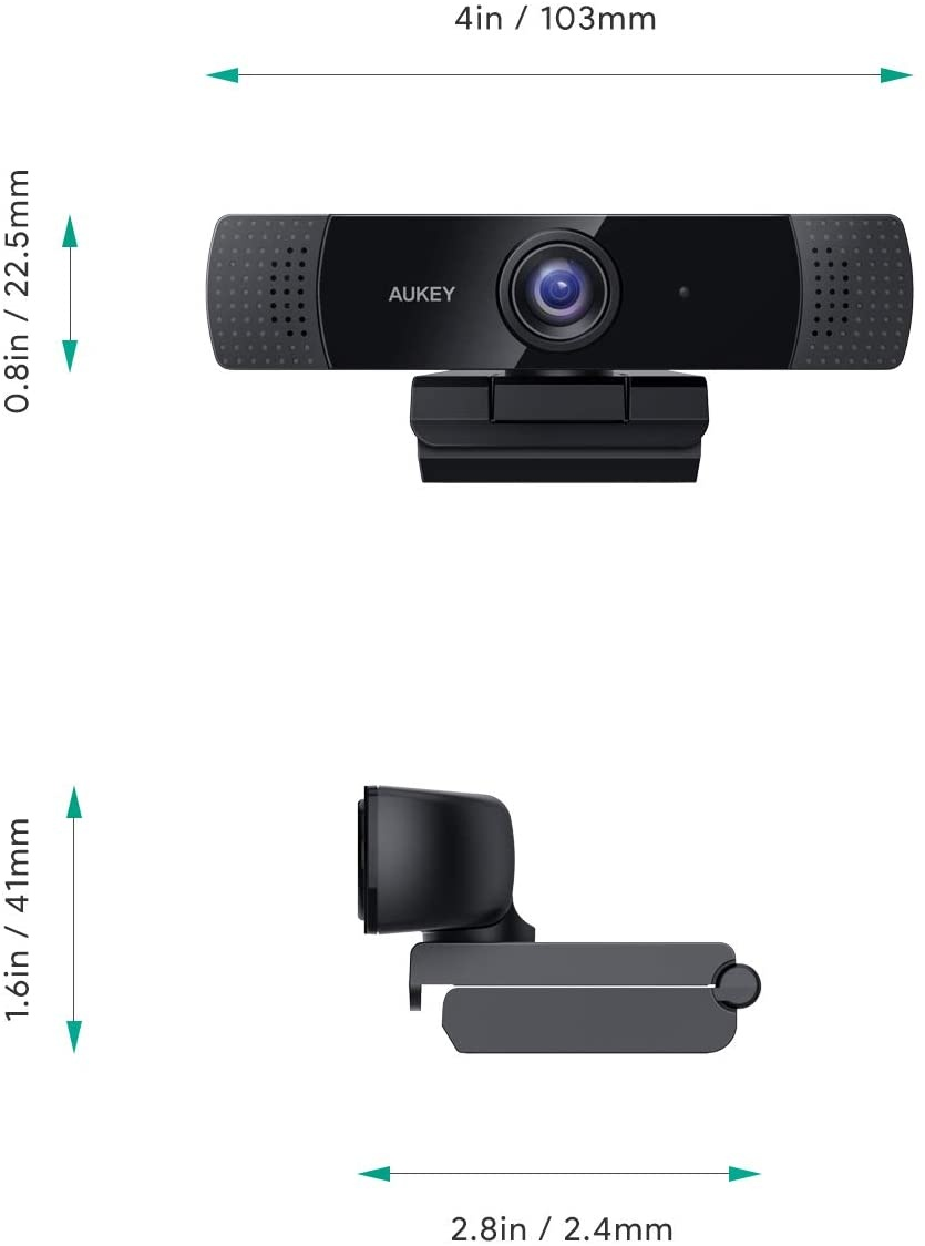 Aukey webcam design