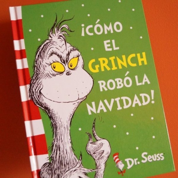 The Grinch original tale in black and white