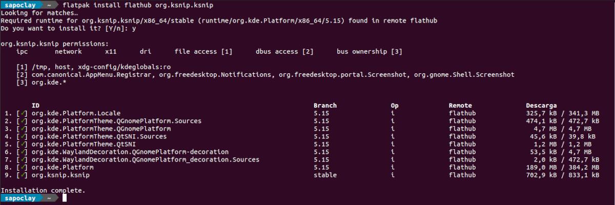 install as flatpak