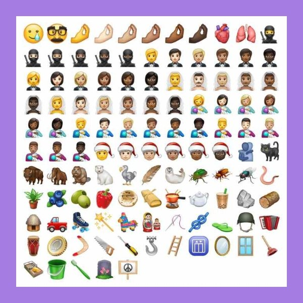 new whatsapp emojis
