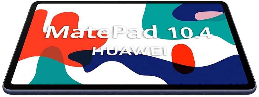 Huawei MatePad 10.4 tablet screen