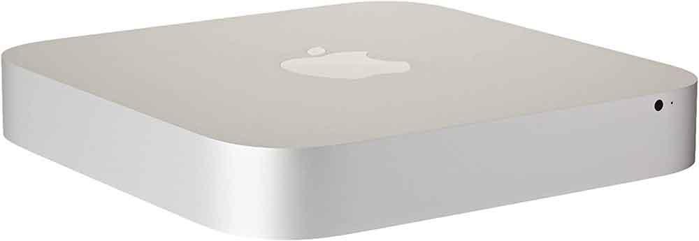 Silver Mac Mini computer