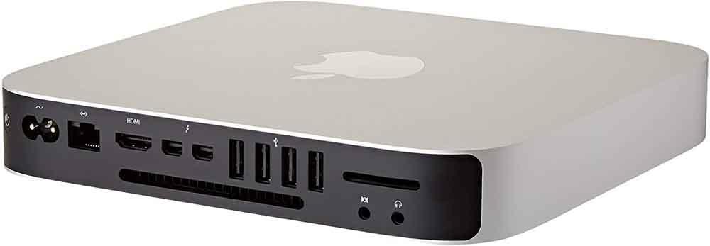 Mac Mini computer connections
