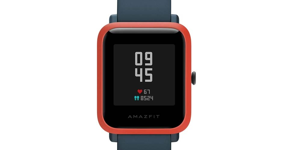 Amazfit Bip S smartwatch screen
