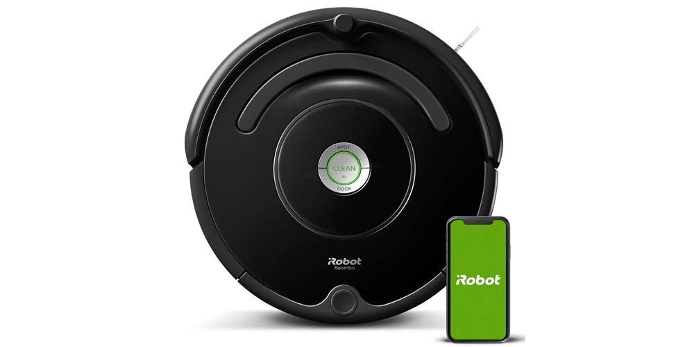 Black Roomba 671 vacuum cleaner