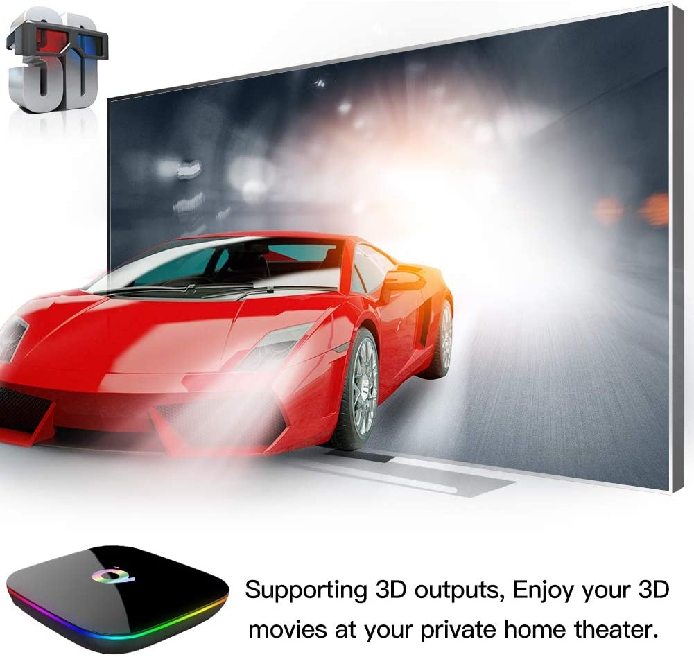 Android TV Box Q +
