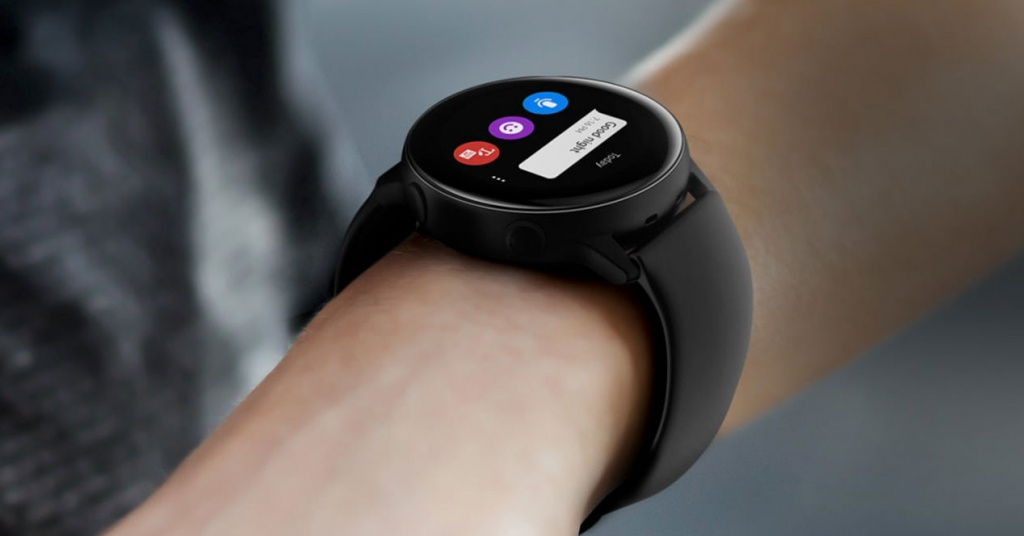 A Samsung Galaxy Watch Active on your wrist