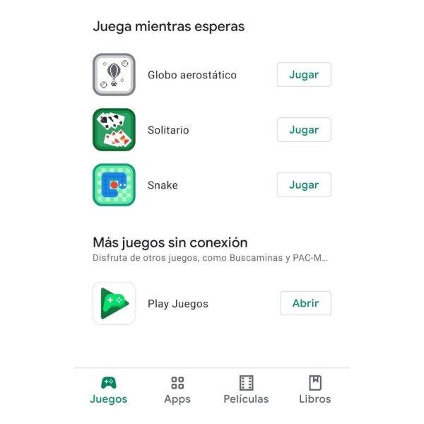 Free offline games Google Play Store