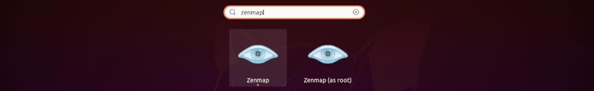 zenmap launcher