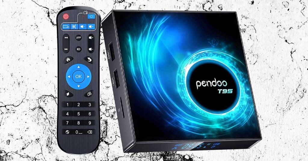 Pendoo T95 TV Box with remote