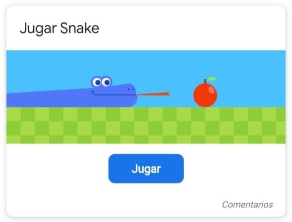 Google game snake