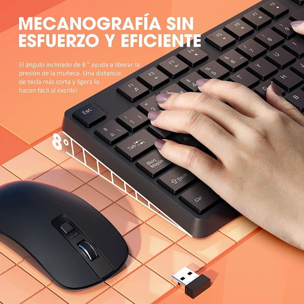 VicTsing keyboard and mouse pack