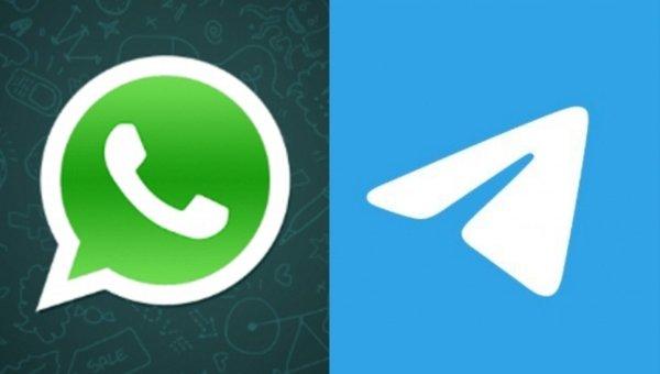 WhatsApp vs Telegram users