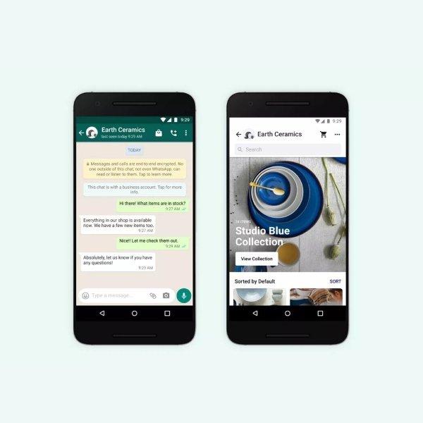 WhatsApp business facebook
