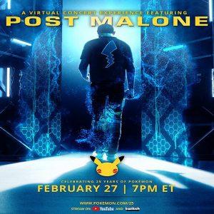 Post Malone pokémon concert