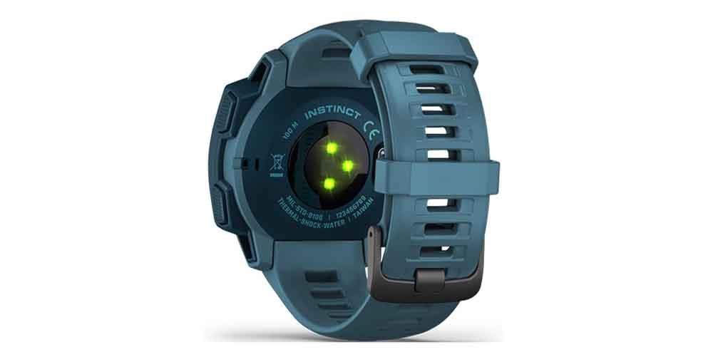 Garmin Instinct smartwatch sensors