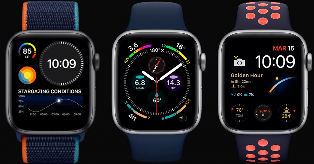 Promotional image of Apple Watch Series 6
