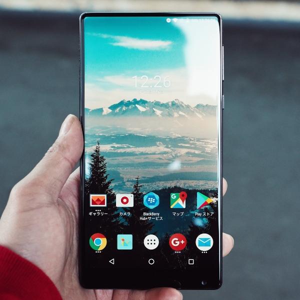 Android phone main screen menu