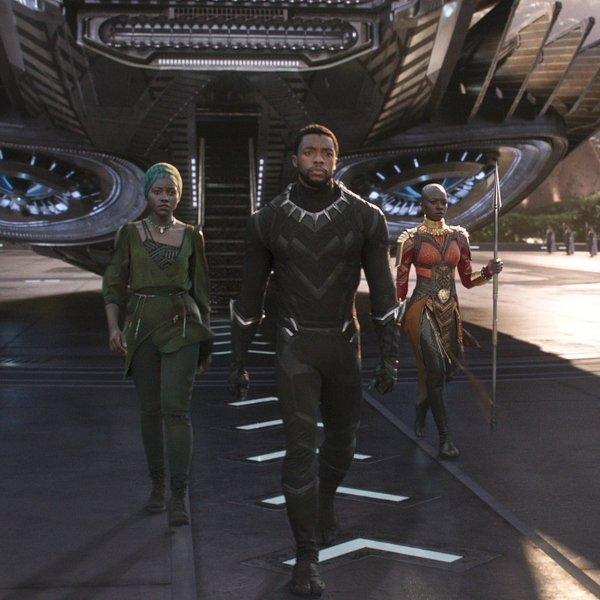Wakanda Black Panther movie scenes